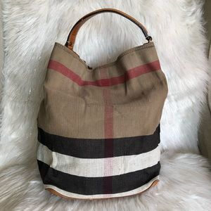 💯% Authentic Burberry Susanna Bucket 2-way Bag